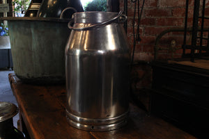 Vintage Polished Milk Churns