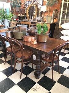 French Oak Extension Table (1890)