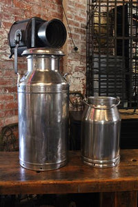 Polished Milk Churns