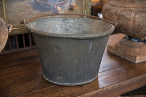 19th Century French Copper Cauldron