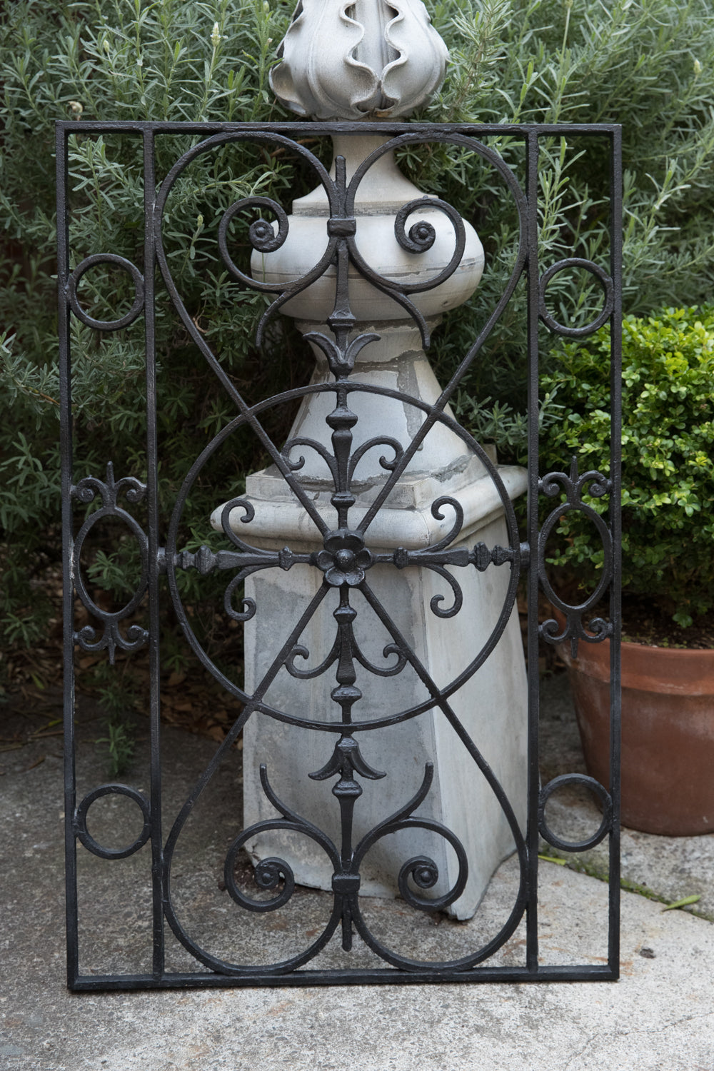 French Wrought Iron Grill - No 18