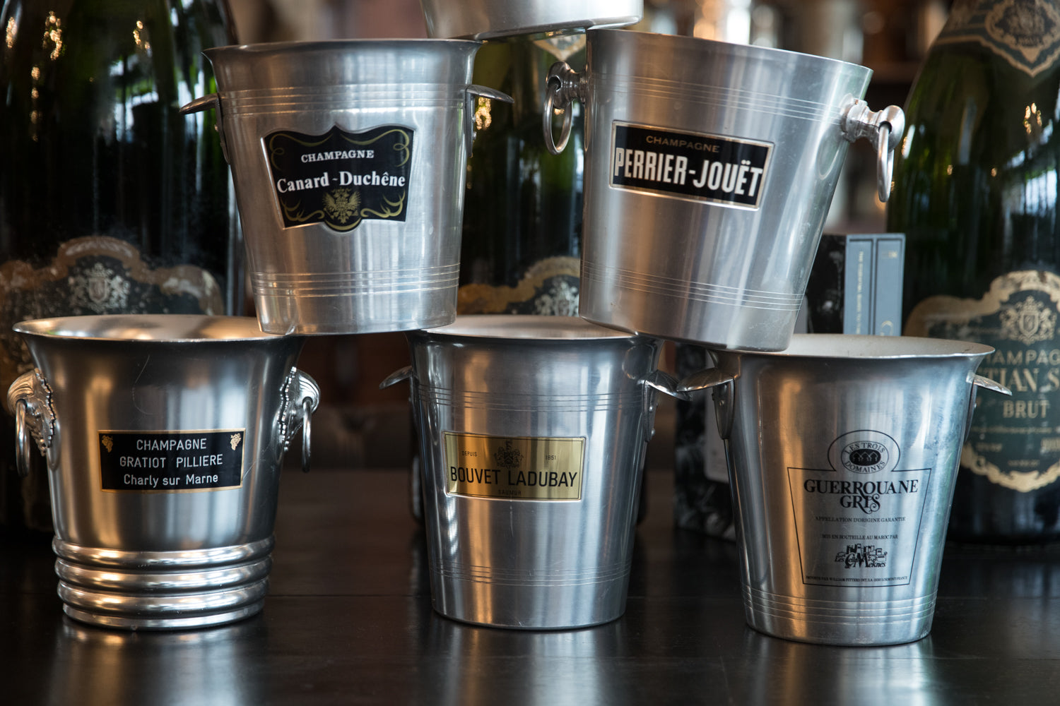 Vintage French Champagne Buckets