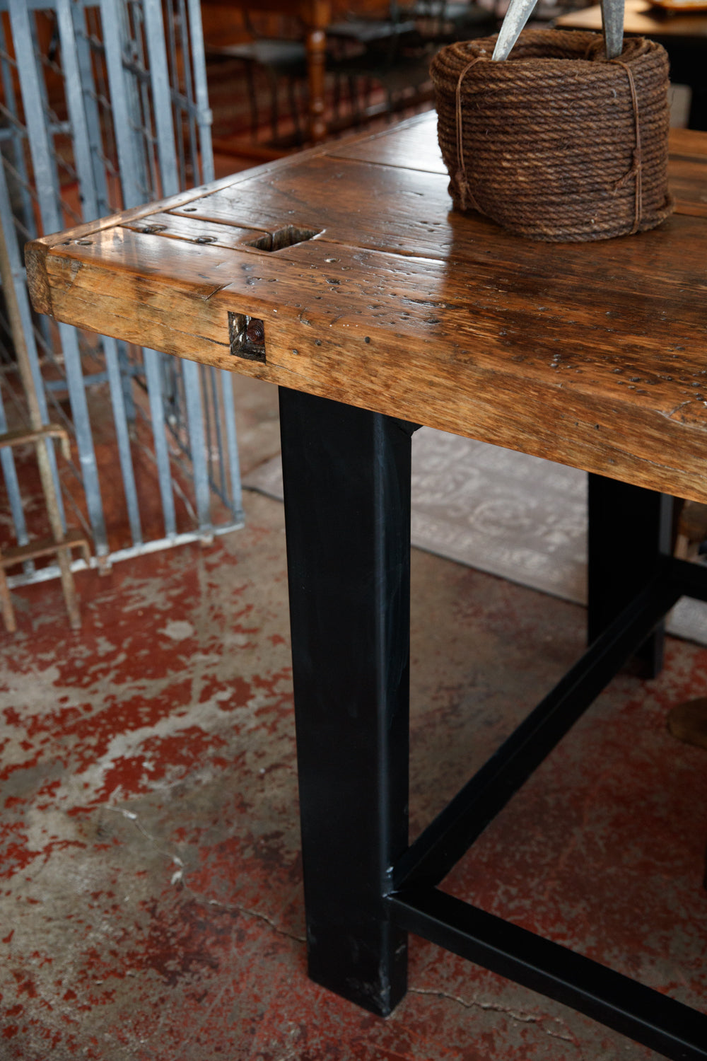 French 1930's Industrial Workbench