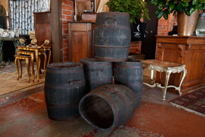 Original Wooden French Grape Barrels