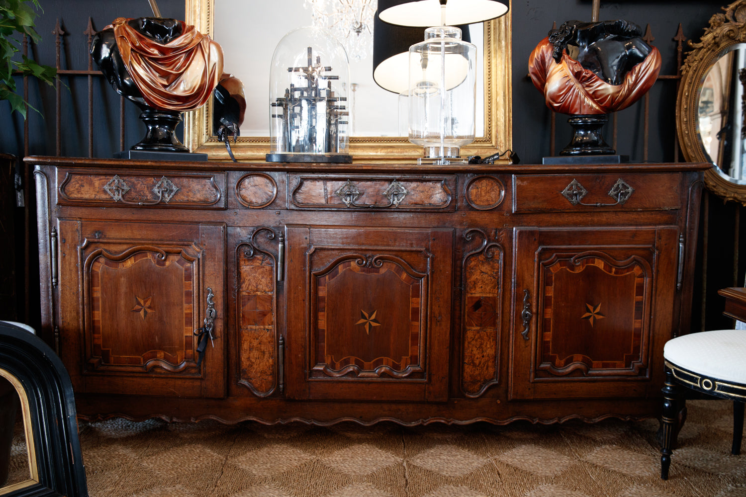 19th Century French Oak Sideboard