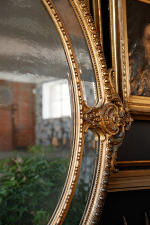 French 19th Century Mirror