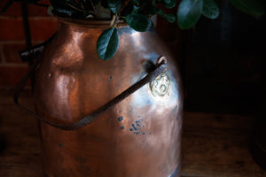 French Copper Churns