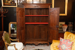 French Oak Armoire