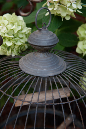 French Zinc Birdcage