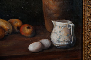 Large French Oil Still Life