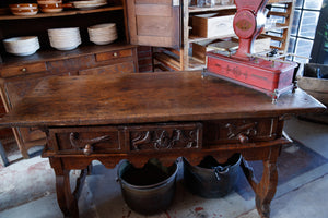 18th Century French Provincial Kitchen Island