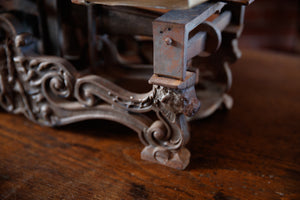 French Cast Iron Shop Scales