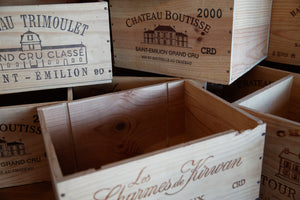 French Vineyard Wine Boxes