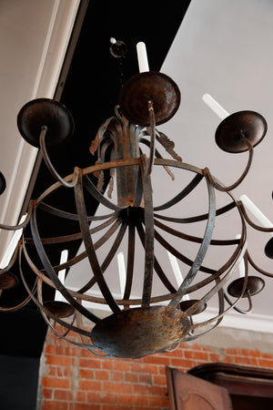 French Wrought Iron Candelabra