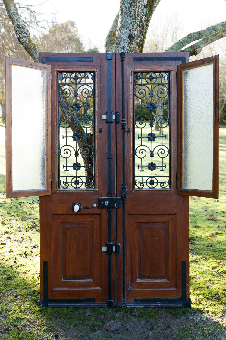 French Double Entrance Doors