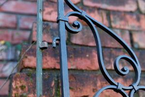 Petite French Wrought Iron Gates