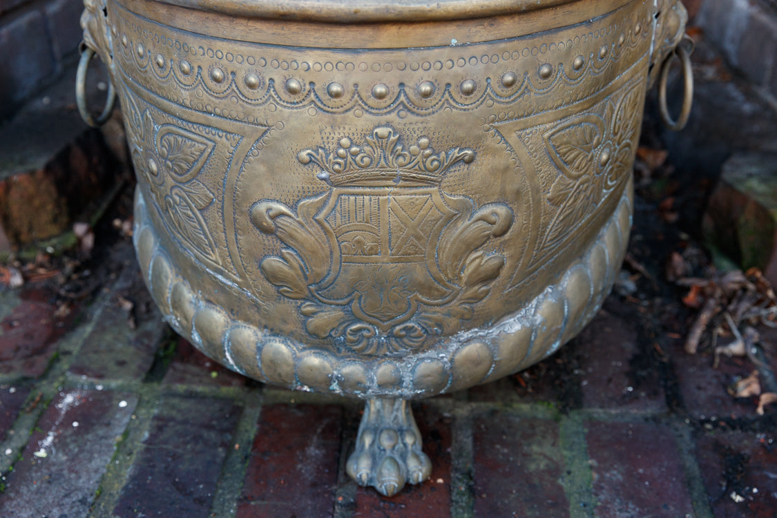 French Bronze Cauldron