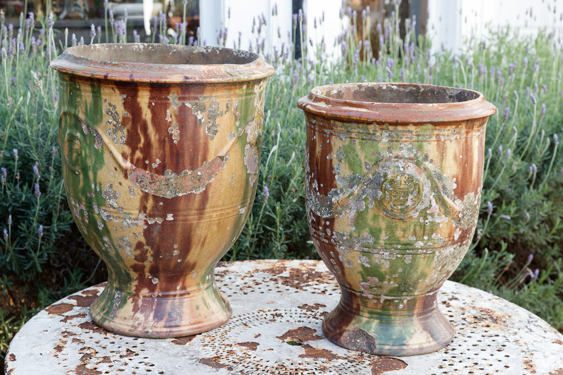 19th Century French Anduze Urns