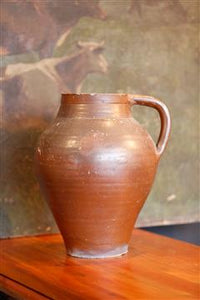 French Terracotta Jug