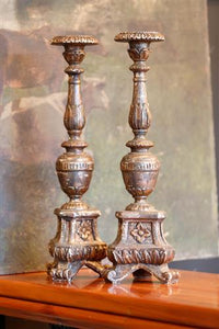 19th Century Italian Candlesticks