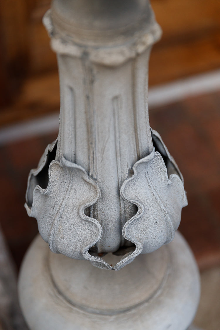 19th Century Chateau Zinc Finial