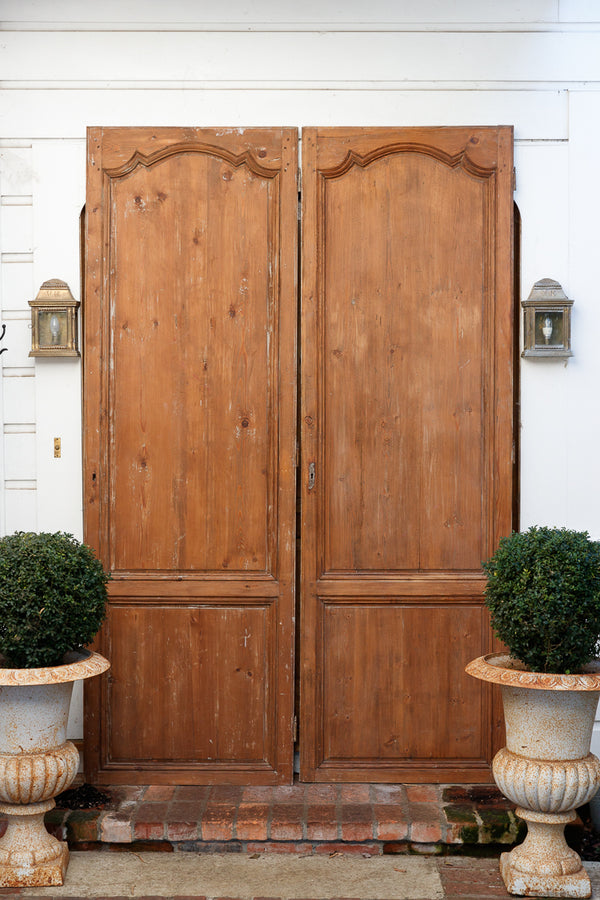 French 19th Century Cedar Doors