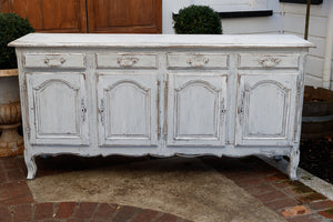 Painted French Oak Dresser