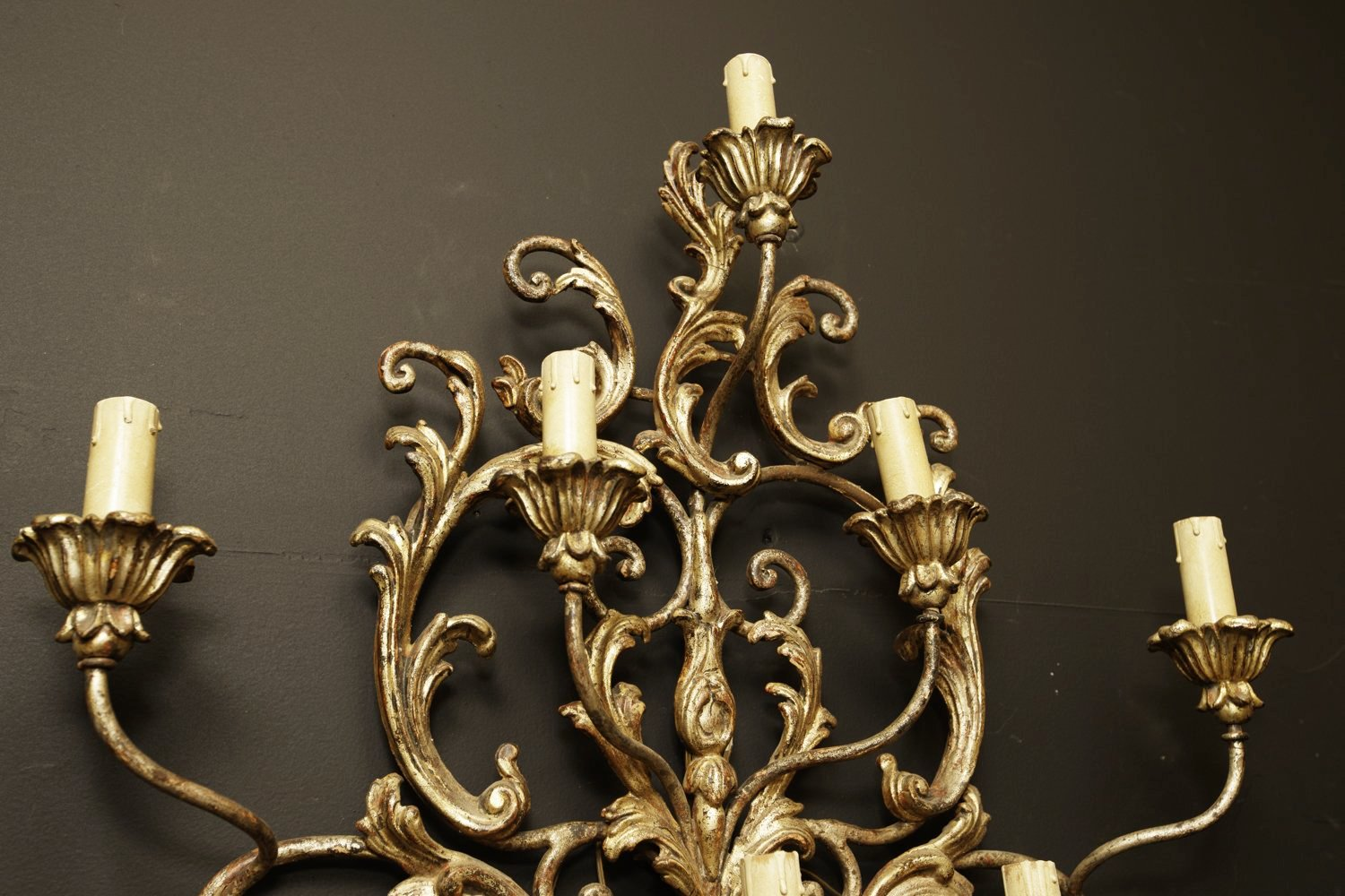 19th Century Gilded Italian Sconce