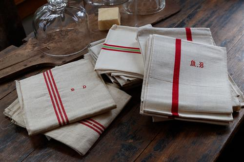 French linen Teatowels