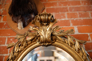 French 1860's Gilded Mirror