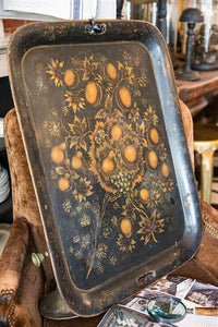 19th Century French Hand Painted Tray