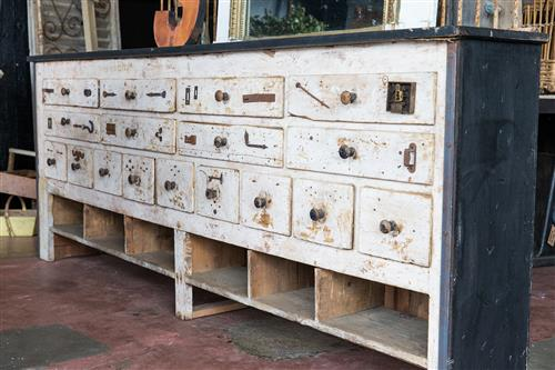 French Workshop Drawers