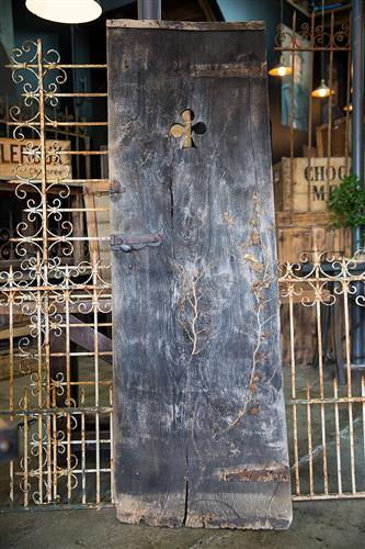 French Barn Door with Ivy