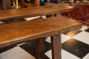 French Cherrywood Bench Seats