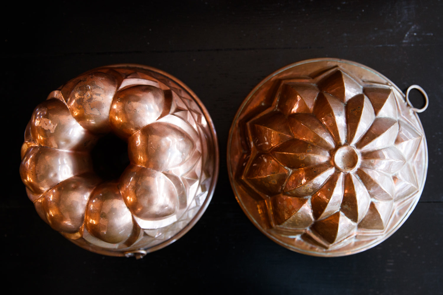 French Copper Moulds