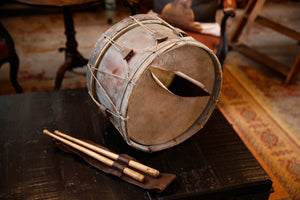 Vintage French Copper Drum