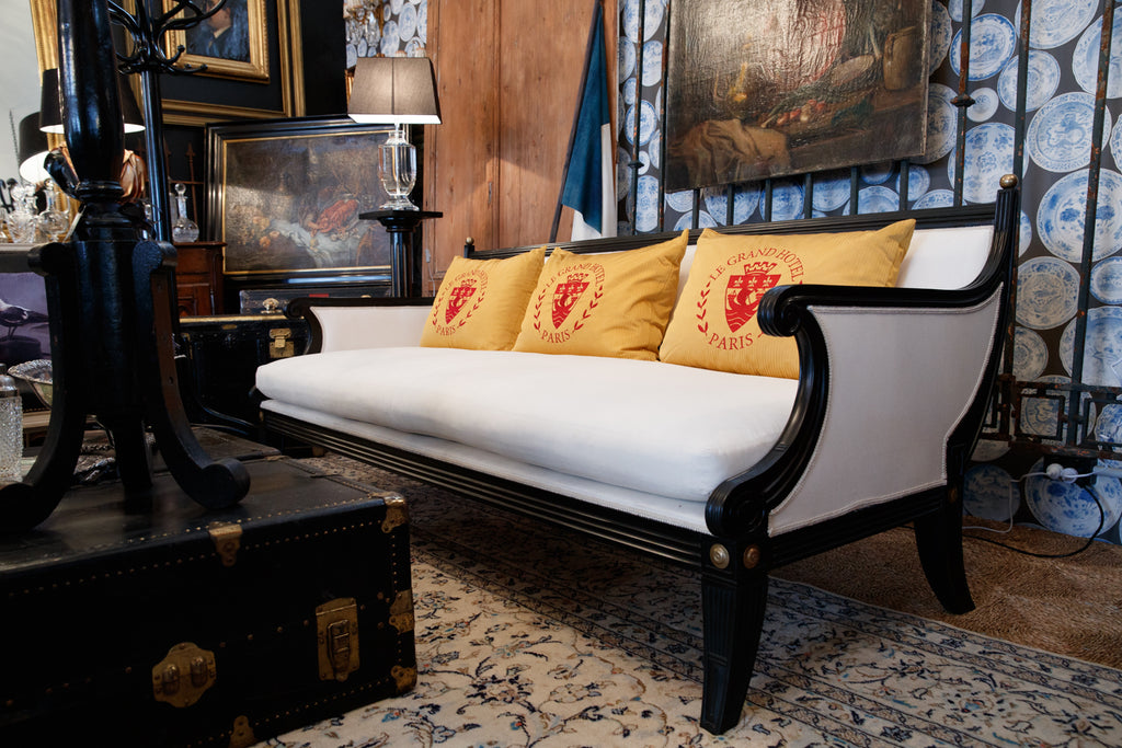Magnificent Original French Mid Century Sofa