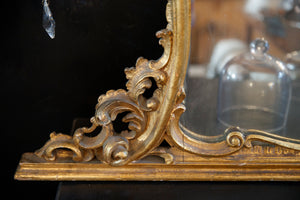 19th Century Italian Gold Gilded Mirror