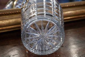 Mid Century French Crystal Champagne Bucket