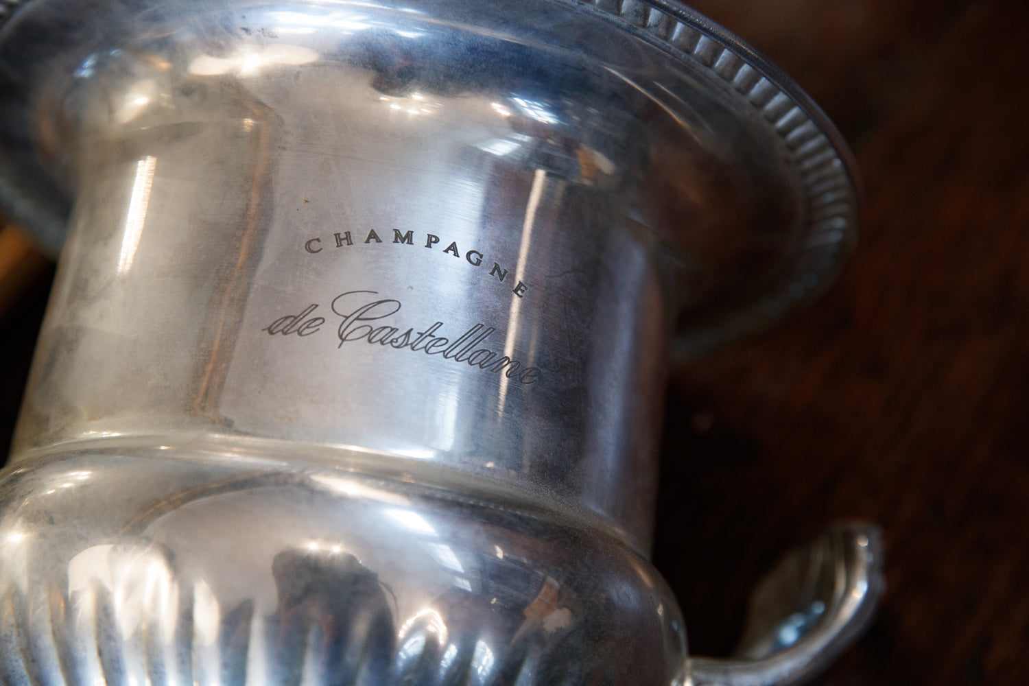 French De Castellane Maison Champagne Bucket