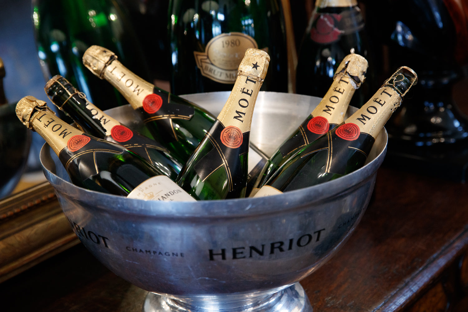 French Henriot Champagne Bucket