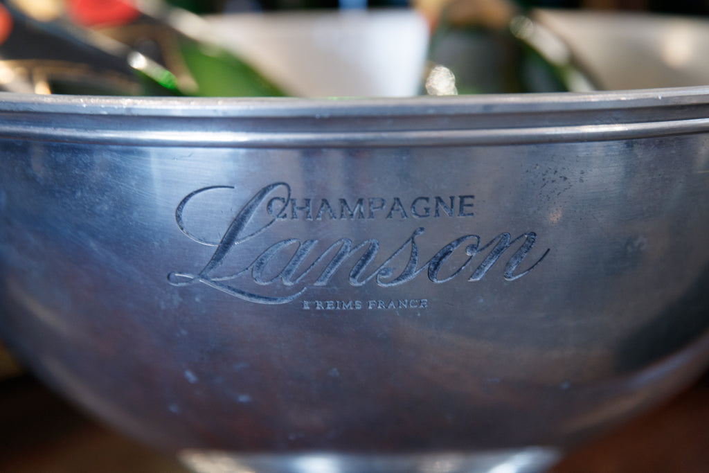 French Pewter Maison Lanson Champagne Bucket