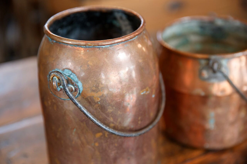 French Copper Pots