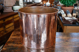 Polished English Copper Pot