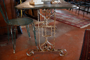 French 19th Century Orangerie Garden Table