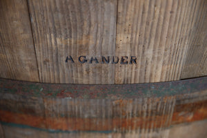 Vintage French Oak Vineyard Grape Barrels