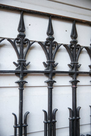 French Wrought Iron Grill - No 14