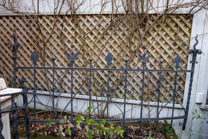 Wrought Iron French Fence