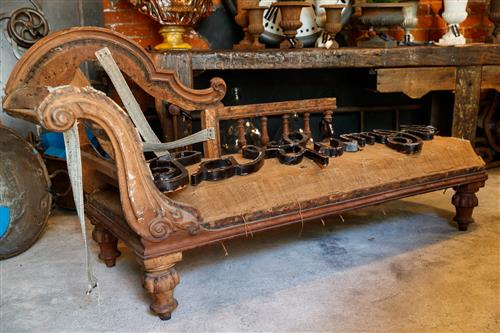1870's French Chaise Lounge
