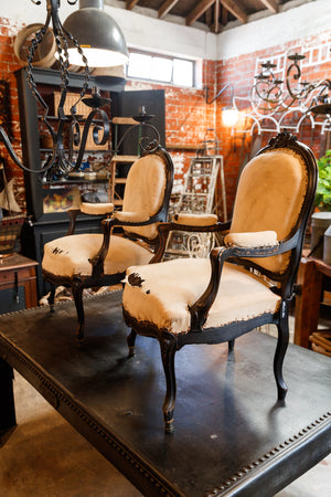 Undressed Napoleon III Parlour Chairs